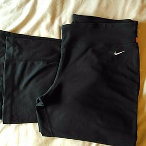 Nike Dri fit exercise pants XL